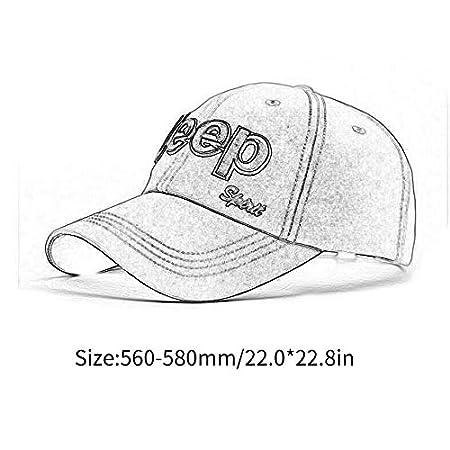 Bigherdez Jeep Alphabet Hat Retro Baseball Caps for Men Women Adjustable Adult Unisex Casual Cap Hiking Camping Sports Warm Hats