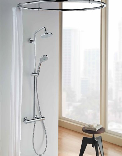 hansgrohe chroma green showerpipe chrome shower systems amazoncom