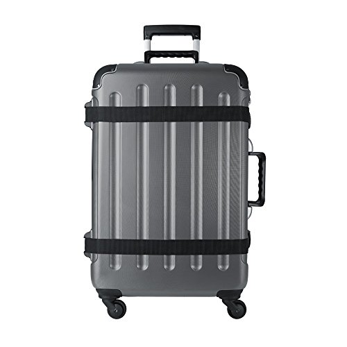 Price comparison product image Vin Garde Valise Grande 04 Wine Travel Case (One Size, Matte Grey)