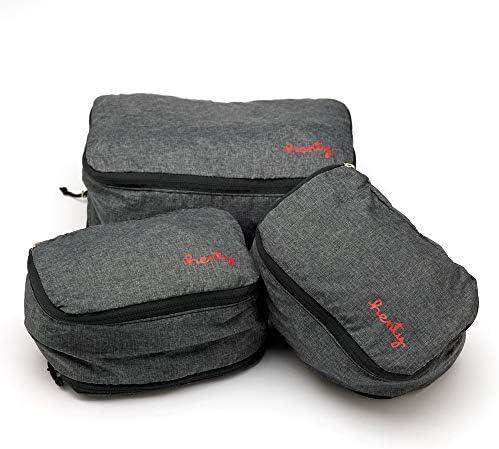 Packing Cube Set (Mサイズx1/ Sサイズx2)