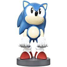 Collectible Sonic the Hedgehog Cable Guy Device Holder - works with PlayStation and Xbox controllers and all Smartphones -  Classic Sonic - Not Machine Specific