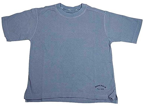 T-shirt Pique Short Sleeve Crewneck (Woolrich - Little Boys Short Sleeve Pique Crewneck Tee Shirt, Sable 11700-4/5)