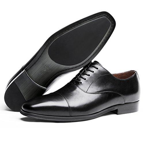 Scarpe Stringate Desai Uomo Oxford Business Nero