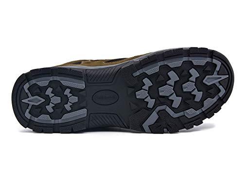 Non Semelle Imperméable homme Marche De Randonnée Femme Marron Knixmax Chaussures Extérieure Trekking slip Homme f4YqCxp