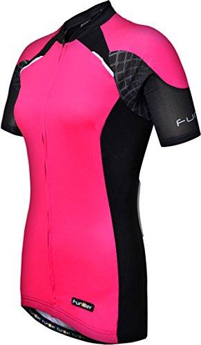 5b62e581b Funkier Odessa Wj-730-1 Ladies Pro Short Sleeve Jersey In Pink black ...