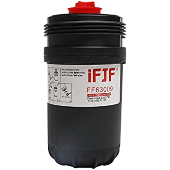 Amazon.com: Fleetguard FF63009 Fuel Filter for mins 5303743 ...