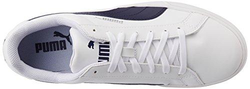 Unisex Smash Zapatillas Blanco White Tenis Puma de Peacoat Vulcanised Adulto xXAq4w4