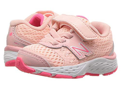 [new balance(ニューバランス)] メンズランニングシューズ?スニーカー?靴 KA680v5I (Infant/Toddler) Himalayan Pink/Pink Zing 10 Toddler (17cm) W