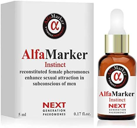 Pheromones to Attract Men Human Pheromones Formula Alfamarker Concentrated Oil Essence for Women (Instinct)