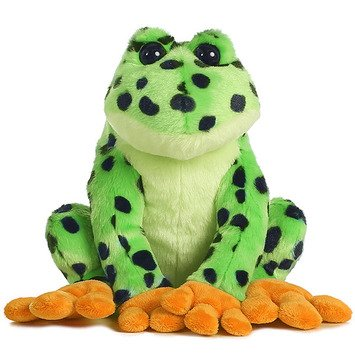 The Spotted Frog - Green Stuffed Spotted Frog - Set Of 2