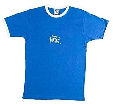 Old School Fútbol Birmingham City 1970s Retro camiseta de fútbol, hombre, color Azul -