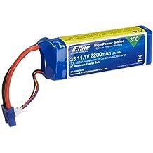E-flite 2200mAh 3S 11.1V 30C LiPo 13AWG EC3 Battery