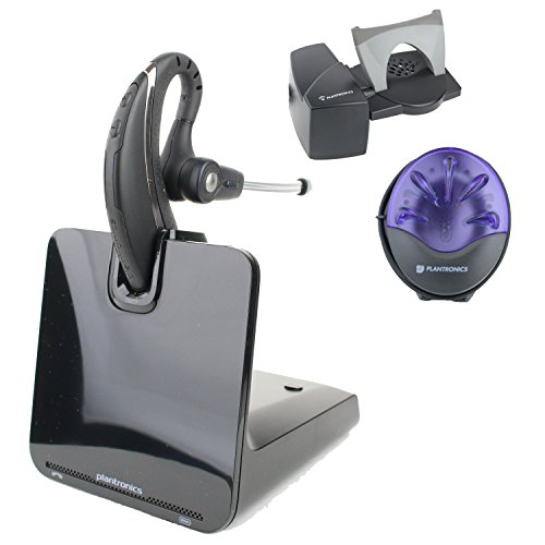 Plantronics CS530 Wireless Office Headset System With Lifter And Busy Light (Certified Refurbished)