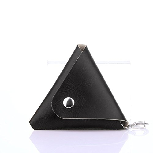 Oksale Gift For Fidget Hand Spinner Triangle Finger Toy Focus ADHD Autism Bag Box Carry Case Packet (Black)