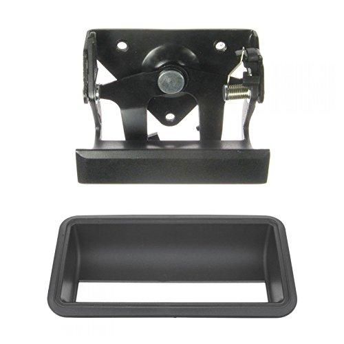Black Tailgate Handle & Bezel for Chevy GMC CK 1500 2500 3500 Pickup Truck