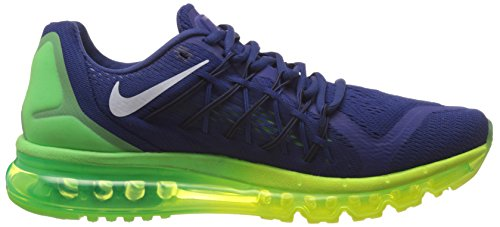 Deep Nike 407 Volt Green 2015 Strike Royal Max Air Men's Blue Black Trainers wUqA6XUx