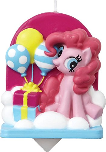 Wilton My Little Pony Licensed Birthday Candle (Pony Candles)