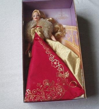 - Barbie BLONDE Glamorous Gala Doll Avon Exclusive