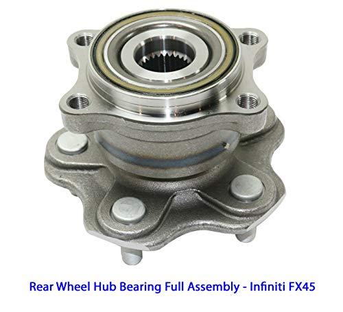 1 DTA Rear Wheel Hub Bearing Full Assembly 2003-2008 Infiniti FX45, Rear Left or Right, Replaces OEM 43202-CG200, 43210