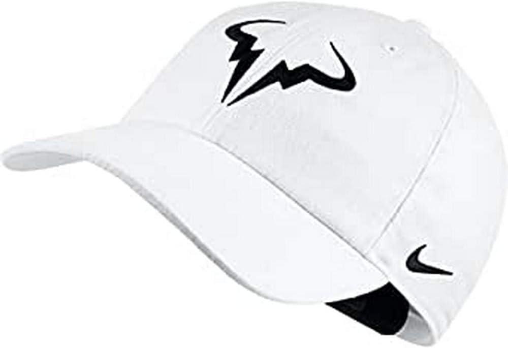 Nike Rafa Nadal U Nk Arobill H86 Gorra, Hombre, Blanco (White ...