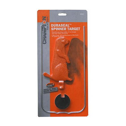 - Champion DuraSeal Single Varmint Spinner Target (7-Inch, Orange)