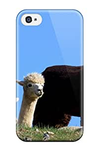 Hot 1110034K54390617 Iphone 4/4s Alpaca Tpu Silicone Gel Case Cover. Fits Iphone 4/4s