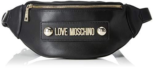 H Pu nero Bolso Centimeters Bandolera Mujer Borsa Grain Para Love Negro 7x13x22 Moschino L X Soft w wTIOOq