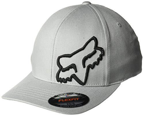 Fox Men's Flex 45 Flexfit HAT, Steel Gray, 2X