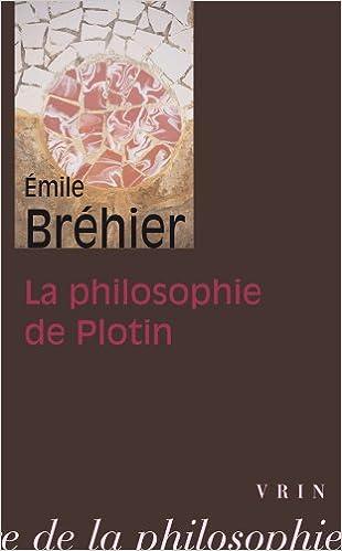 Télécharger en ligne La philosophie de Plotin pdf