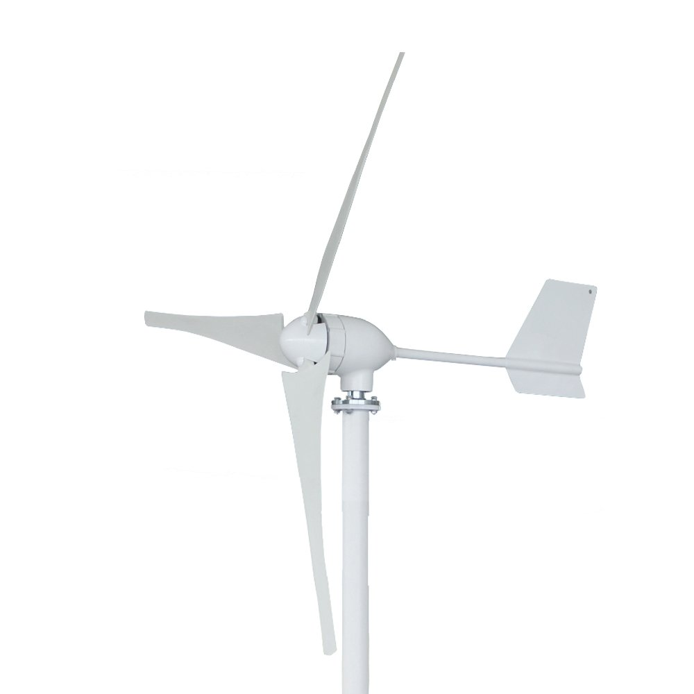 Vogvigo Wind Turbine Wind Generator Wind Turbine High Efficiency Wind Turbine Generator Kit 3 Blades Wind Energy 700W DC 48V