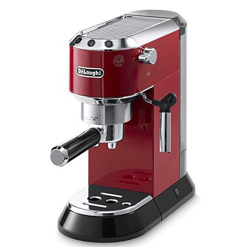DeLonghi EC Dedica Machine à espresso rouge