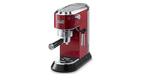 Amazon.com: DeLonghi Dedica Bomba cafetera de espresso Rojo ...