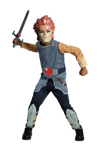 Mumm Ra Fancy Dress Costume (ThunderCats Animated Lion-O Value Child Costume - Large)