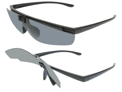 G&G Lightweight Polarized Flip Up Baseball - Baseball Flip Sunglasses
