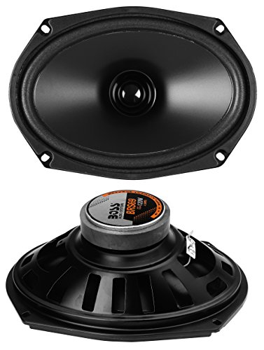 BOSS Audio BRS69 120 Watt, 6 x 9 Inch, Full Range, Replacement Car Speaker (Sold individually)