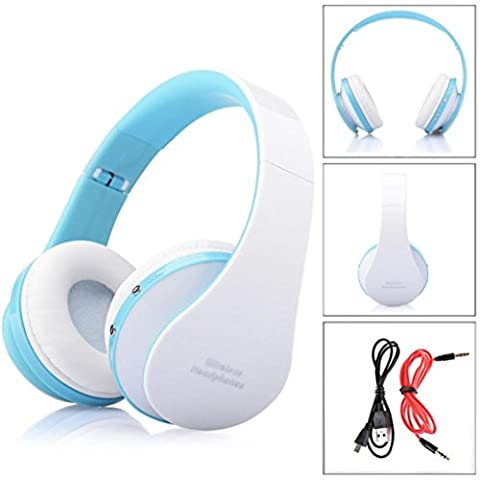 Gotd 3.0 Stereo Bluetooth Wireless Foldable Headset Handsfree Headphones With Call Mic/Microphone, (Bluetooth Optional Headphones)