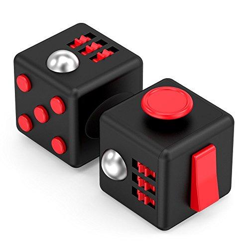 Vafru フィジットキューブ  ミニマジックキューブ いらいらや不安軽減に おもちゃのダイスキューブ