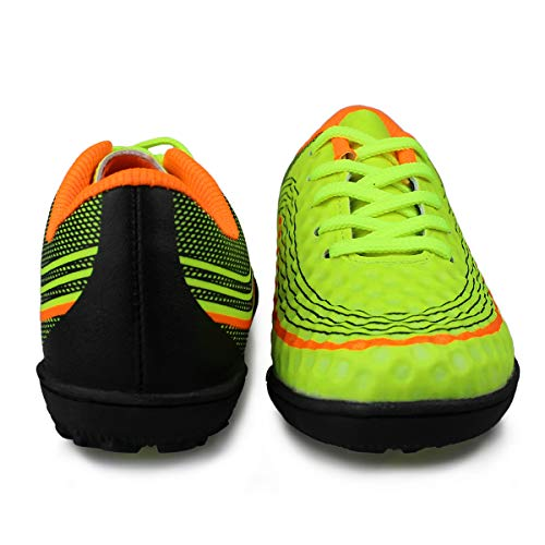 42f98affc1e Hawkwell Kids Athletic Outdoor Indoor Comfortable Soccer Shoes(Toddler Little  Kid Big