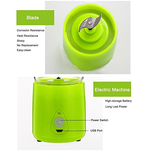Portable Juicer Rechargeable Battery Portable Radio New Zealand Best Portable Air Compressor For Jeep Wrangler Portable Electric Air Compressor For Car Tires: Juicer Cup,Mini USB Electric Personal Fruit Juicer
