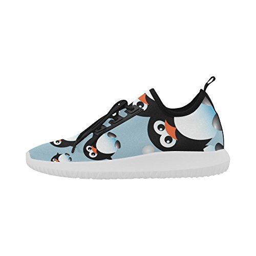 Dolphin Light Shoes on InterestPrint for jeans Penguins1 Women Ultra butterfly beautiful Running c6IqIY