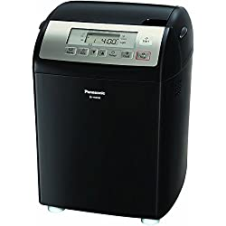 Panasonic SD-YR2500 Bread Maker with Gluten Free Mode and Yeast/Raisin / Nut Dispenser, Black