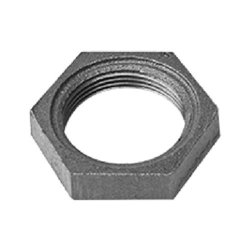 Ward 1/2 Galvanized Locknuts - D.NMLN - Galvanized Fittings Made In the USA black fittings, black pipe, pipe, fittings, ward, ward fittings, schedule 40- Pack of 5 ()