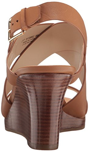 Cole Haan Women's Penelope II Wedge Sandal, Pecan Leather, 7.5 B US by Cole Haan (Image #2)