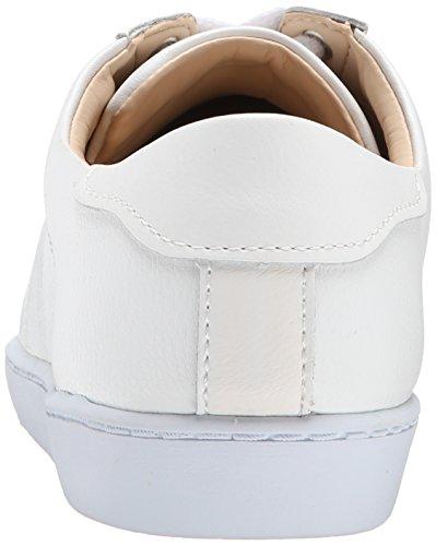 Nine West Kvinners Rukkus Skinn Mote Sneaker Hvit / Hvit