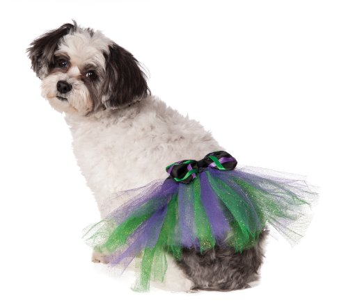 Rubie's Halloween Tutu with Bow Pet Costume,...