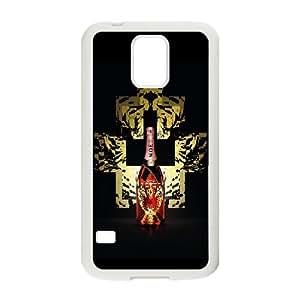Design Cases Samsung Galaxy S5 I9600 Cell Phone Case White Marcelo Burlon Gmzeia Printed Cover