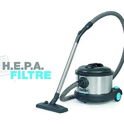 Aspiradora industrial silenciosa en seco. Filtro H.E.P.A. 850W ...