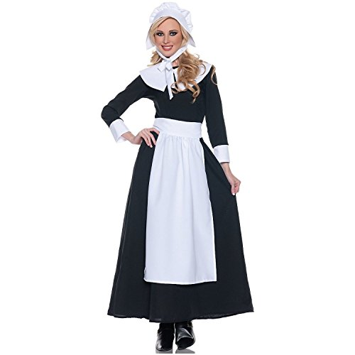 Costume, Black/White, Large