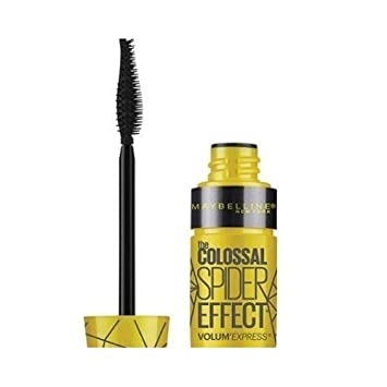 d3492e7dc6b Image Unavailable. Image not available for. Color: Maybelline Volum'  Express The Colossal Spider Effect Mascara, 221 Glam Black (Pack of