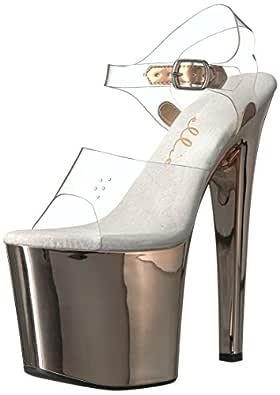 Ellie Shoes Women's 821-BRIA Heeled Sandal clr 5 Medium US